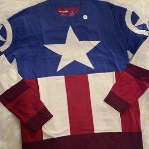 Marvel Captain America Unisex Pullover Sweater